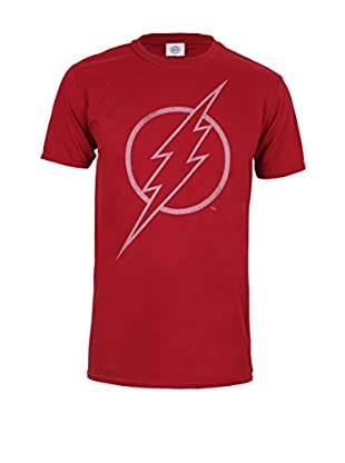 DC Comics T-Shirt Manica Corta Flash Line Logo