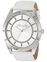 FCUK Analog Silver Dial Women's Watch - FC1072SS
