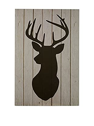 Premier Interior Panel Decorativo Stag Silhouette