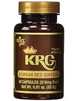 Korean Red Ginseng 518mg 50C 50 Capsules
