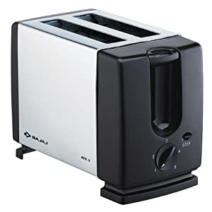 Bajaj ATX 3 Metallic Auto Pop-up Toaster