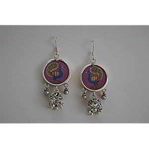 Gajgauri Stunning Silver Earring