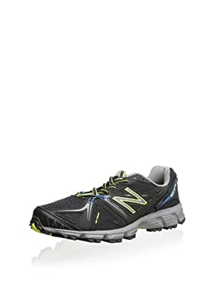New Balance Men's MT610 Trail Running Shoe (Black/Silver)