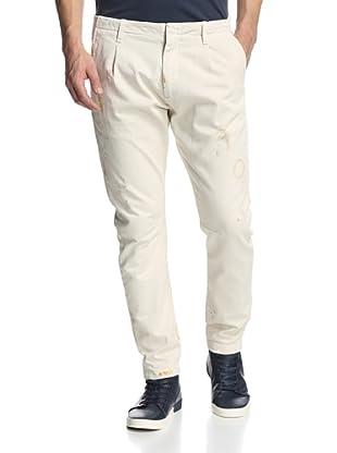 Pierre Balmain Men's Skinny Pant (Off white)