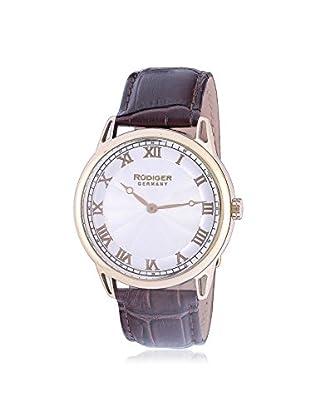 Rudiger Men's R2800-02-001 Ulm Analog Display Quartz Brown Watch