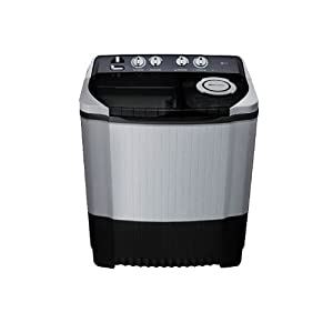 LG P9561R3F Semi-automatic Top-loading Washing Machine (8.5 Kg, Royal Grey)