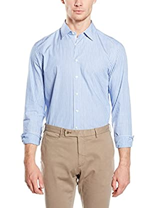 Hackett London Camisa Hombre Dobby Str Multi Str