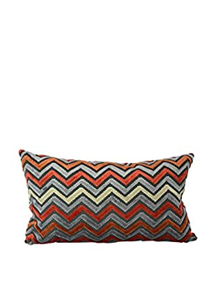Uptown Down Insignia Red Pillow, Red