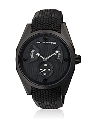 Morphic Reloj con movimiento cuarzo japonés Mph3405 Negro 44  mm