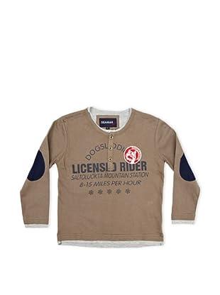 Seaman Camiseta Licensed Rider (Caqui / Gris)