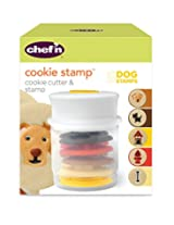 Chef'n Cookie Cutter and Stamp (Dog Shapes)