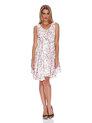 Lavand Kleid (weiß)