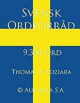 Svensk Ordforrad (Danish Edition)