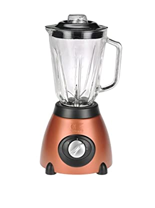 Kalorik 500-Watt 2-Speed Countertop Blender with 48-Oz. Glass Jar (Aztec Copper)