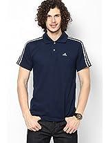 Navy Blue Training Polo T-Shirt
