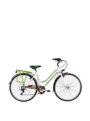 SCHIANO Fahrrad 28 Trekking 30 06V 712 weiß/grün
