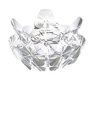Luceplan Deckenlampe Hope kristall/chrom Ø69 H 41,5 cm