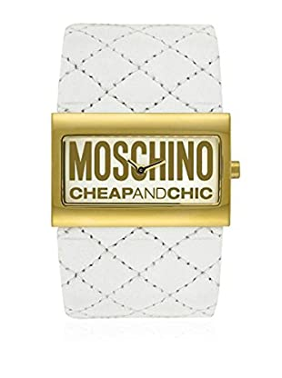 Moschino Quarzuhr 69206 20 mm wei脽