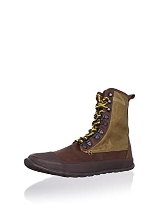 Tretorn Men's Klipporone Combo Boot (Spice Brown/Capers)