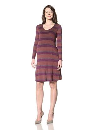 NOM Women's Reba Dress (Stripe)