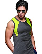 ONN NR625 Men's Assorted Colour Pack of 2 Sports/Gym Vest (Small)
