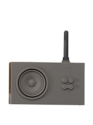 Lexon Tykho Rubber Radio, Grey