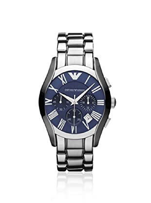Emporio Armani Men's AR1635 Silver/Blue Stainless Steel Watch