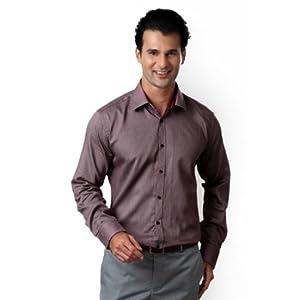 Van Heusen Slim Fit Textured Shirt
