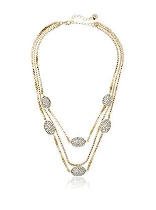 Fragments Pavé Eggs & Chain Necklace