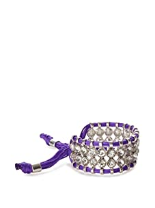 Rolf Bleu Montana Bold Adjustable Bracelet (Purple)