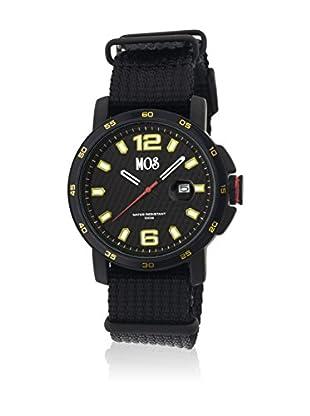 Mos Reloj con movimiento cuarzo japonés Moseb106 Negro 43  mm