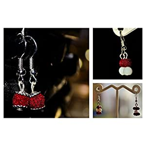 Varishta Jewells Daily Wear Dangles (3 Pairs) Earring