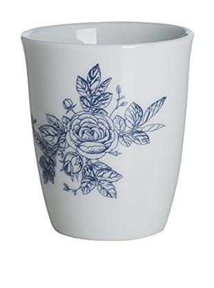 Lene Bjerre Molly Small White & Light Blue Mug