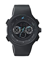 Fastrack Casual Analog-Digital Black Dial Men's Watch - 38013PP01J