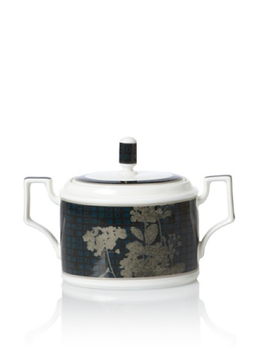 Noritake Everyday Elegance Verdena Sugar Bowl with Cover (Platinum)