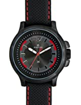 Maxima Attivo Analog Black Dial Men's Watch - 24600LMGB