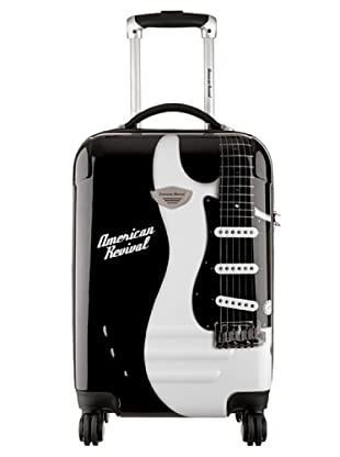 American Revival Trolley Guitare 50x32x22 cm (Schwarz)