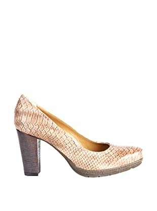 Paco Herrero Zapatos Salón Serpiente (Beige)