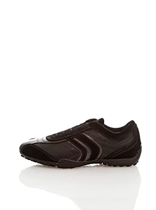 Geox Donna Snake D1312N04322C9999 - Zapatillas para mujer (Negro)