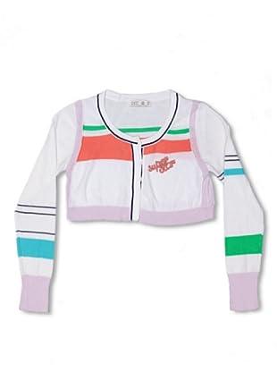 CKS Kids GIRLS Chaqueta Bolero Butler (Blanco / Multicolor)