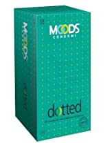 Moods Supreme Dotted - 20 Condoms (Pack of 2)