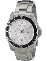 Victorinox Swiss Army Men's 241437 Maverick GS Stainless Steel Silver Dial Watch