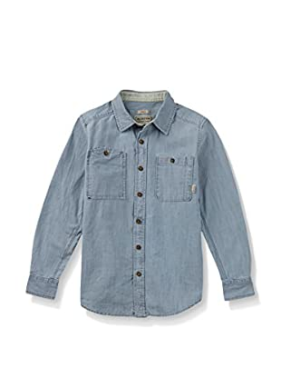 Burton Camisa Niño Glade Light Chambray