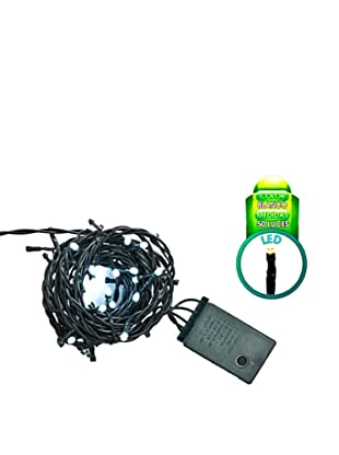 Avocado Guirnalda 50 LED Controlador 8 Funciones Blanco