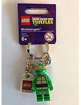 Lego Teenage Mutant Ninja Turtles Michelangelo Keychain