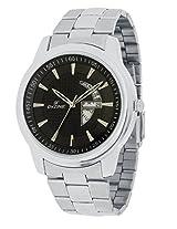 Dezine Black Dial Analog Watch (DZ-GR1010-BLK-CH)