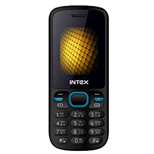 Intex Nano-2 Mobile Phone (Blue+Black)