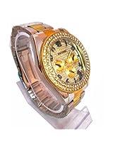 Paidu Brand Men Wrist Watch Stailess Steel Diamond Silver Golden Wrist Watch
