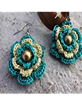 3 Layer Crochet Earring