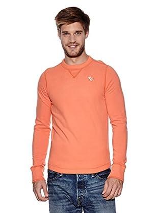 Abercrombie & Fitch Pullover Classic Crew (orange)